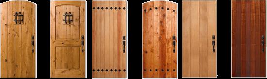Plank \u0026 Speakeasy Doors & Plank \u0026 Speakeasy Doors | The Window and Door Shop Inc.
