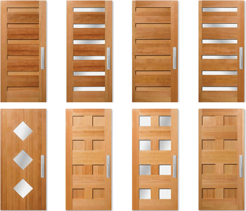 City style and modern lines come together with timeless quality and wood craftsmanship. A unique selection of beautiful wood doors with clean geometric ...  sc 1 st  The Window And Door Shop & Urban Door Collection | The Window and Door Shop Inc.
