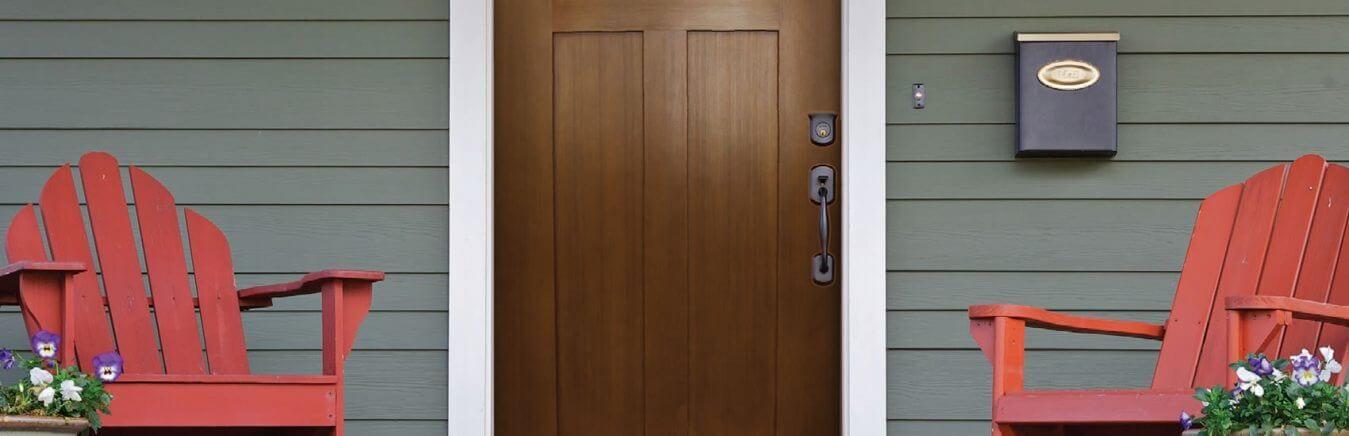 True white oak series the window and door shop inc for Mahogany door skin